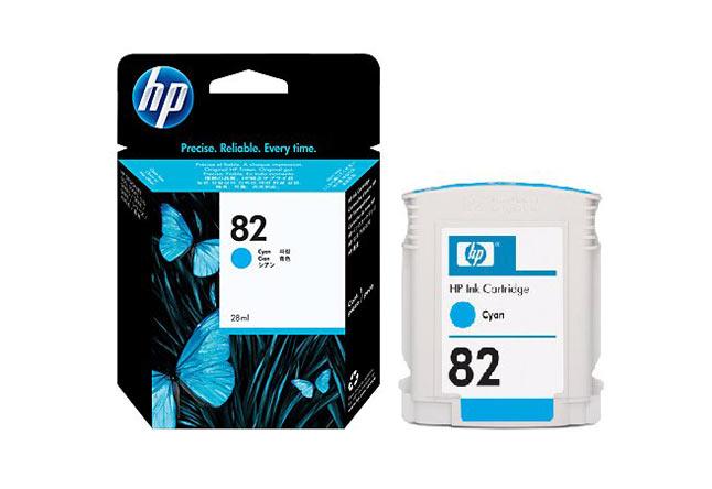 Картридж 82 для HP DJ 500/510, 28мл (О) CH566A, cyan