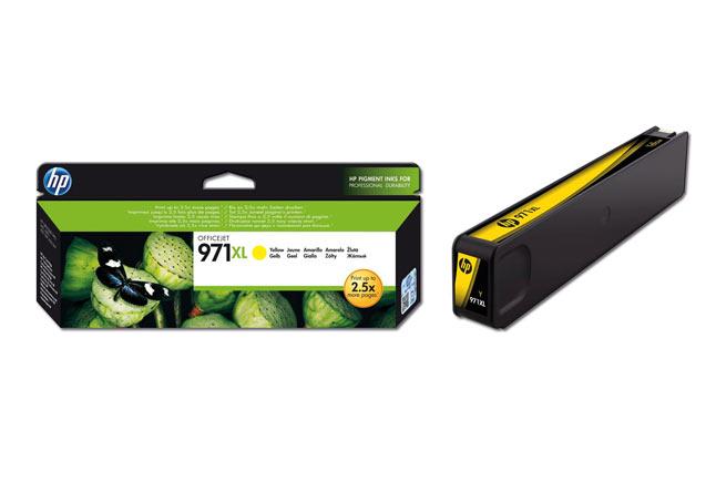 Картридж 971XL для HP OJ Pro X476dw/X576dw/X451dw/X551dw, 6,6К (О) жёлтый CN628AE