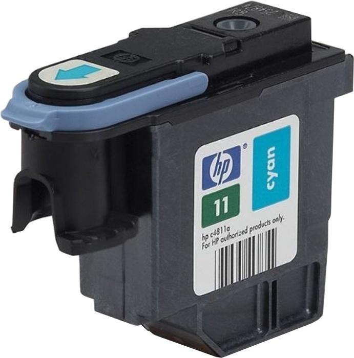 Печат. головка 11 для HP Business Inkjet 2200/2250/DJ 500/510/800/810 cyan (О) C4811A