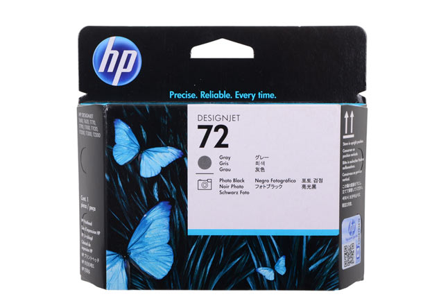 Картридж HP №72 DesignJet T610/T1100 (O) C9401A, Grey, 69ml
