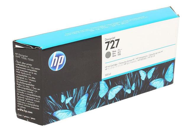 Картридж 727 для HP DJ T920/T1500, 300ml (O) Grey F9J80A