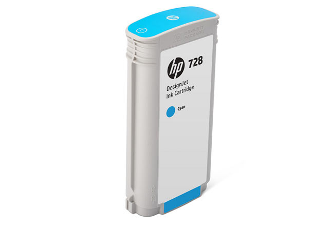 Картридж 728 для HP DJ T730/T830, 130ml (O) Cyan F9J67A