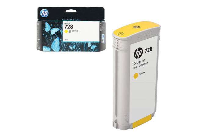Картридж 728 для HP DJ T730/T830, 130ml (O) Yellow F9J65A