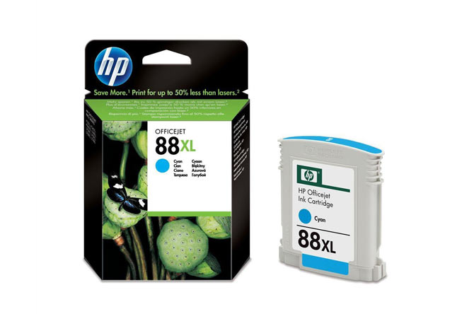 Картридж HP Officejet Pro K550 №88XL (O) C9391AE, cyan