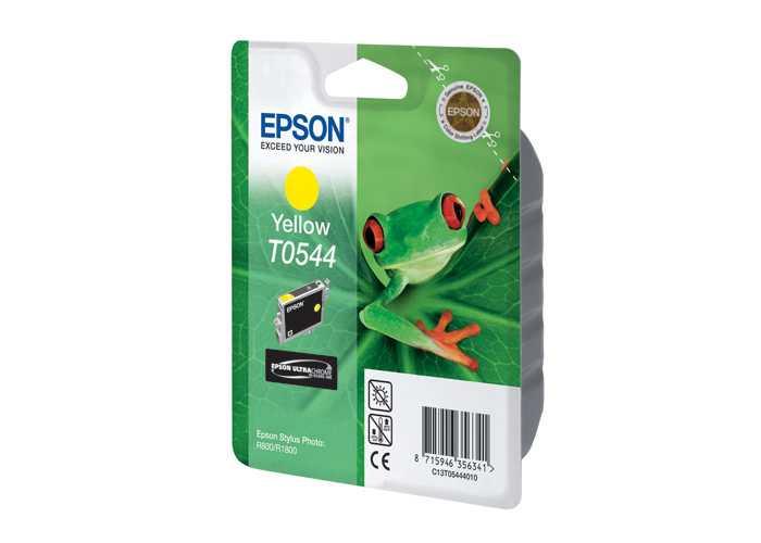 Картридж Epson Stylus Photo R800/1800 (O) C13T05444010, Y