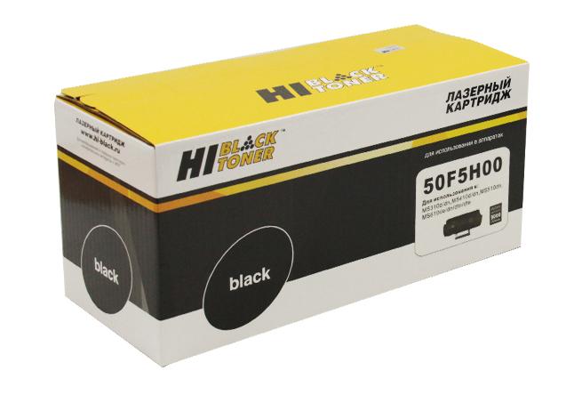 Тонер-картридж Hi-Black (HB-50F5H00) для Lexmark MS310/MS410/MS510/MS610, 5K