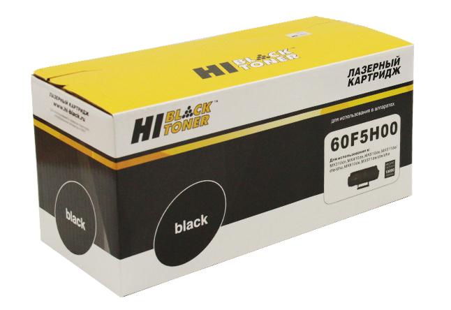 Тонер-картридж Hi-Black (HB-60F5H00) для Lexmark MX310/MX410/MX510/MX511/MX610/MX611, 10K