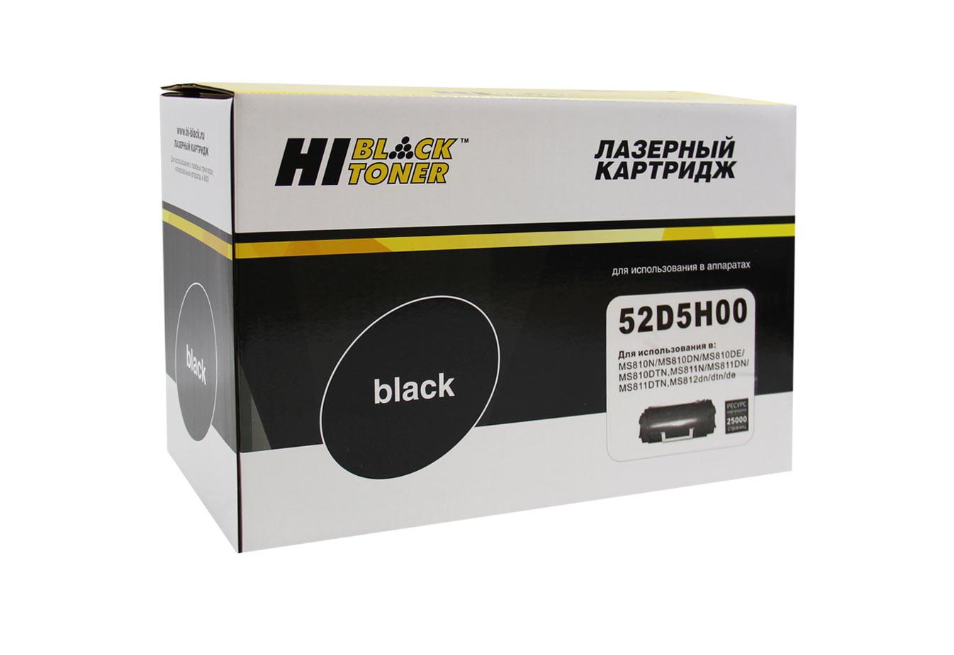 Тонер-картридж Hi-Black (HB-52D5H00) для Lexmark MS810/MS811/MS812, 25K