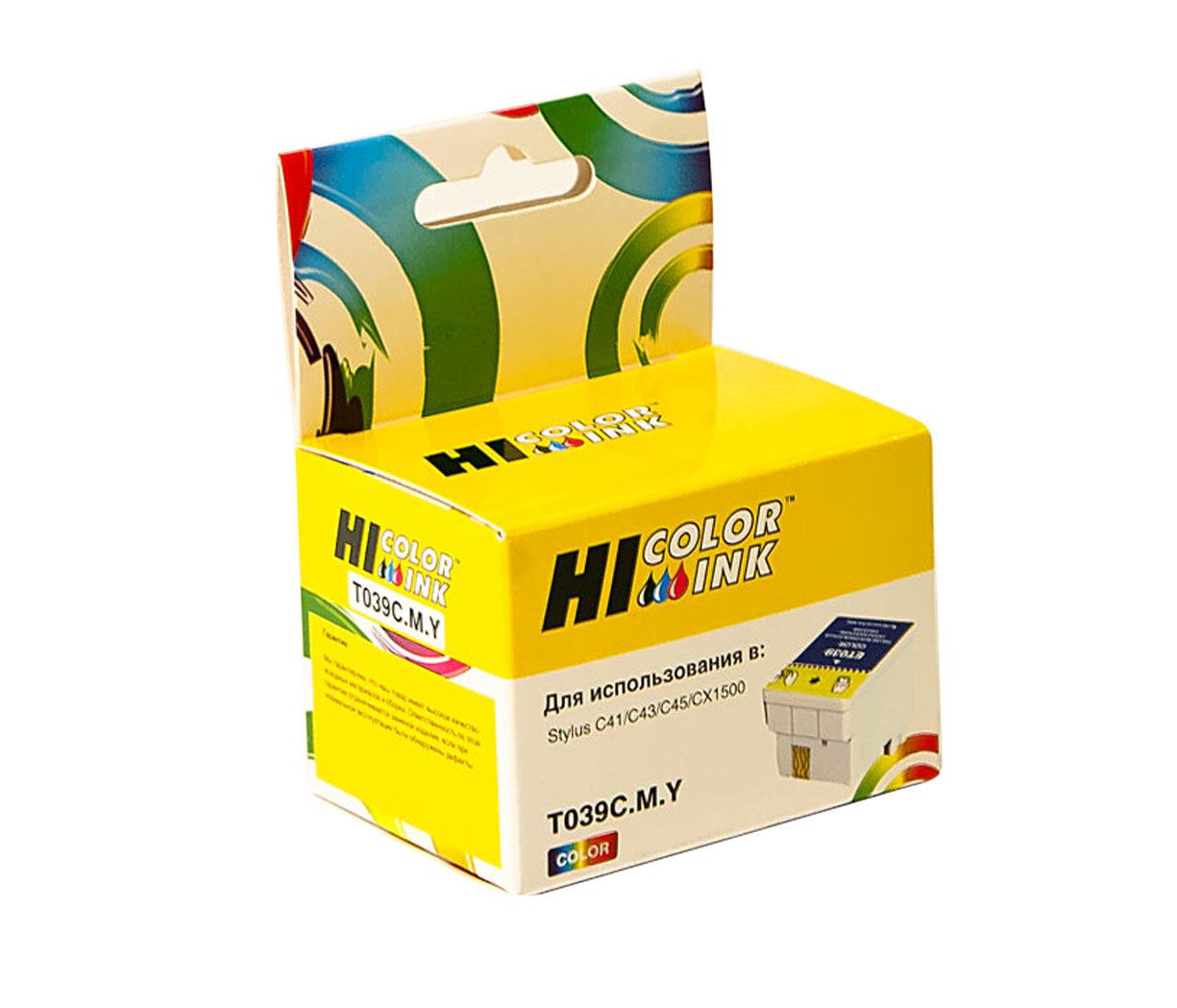 Картридж Hi-Black (HB-T0390) для Epson Stylus C43/C45, Color