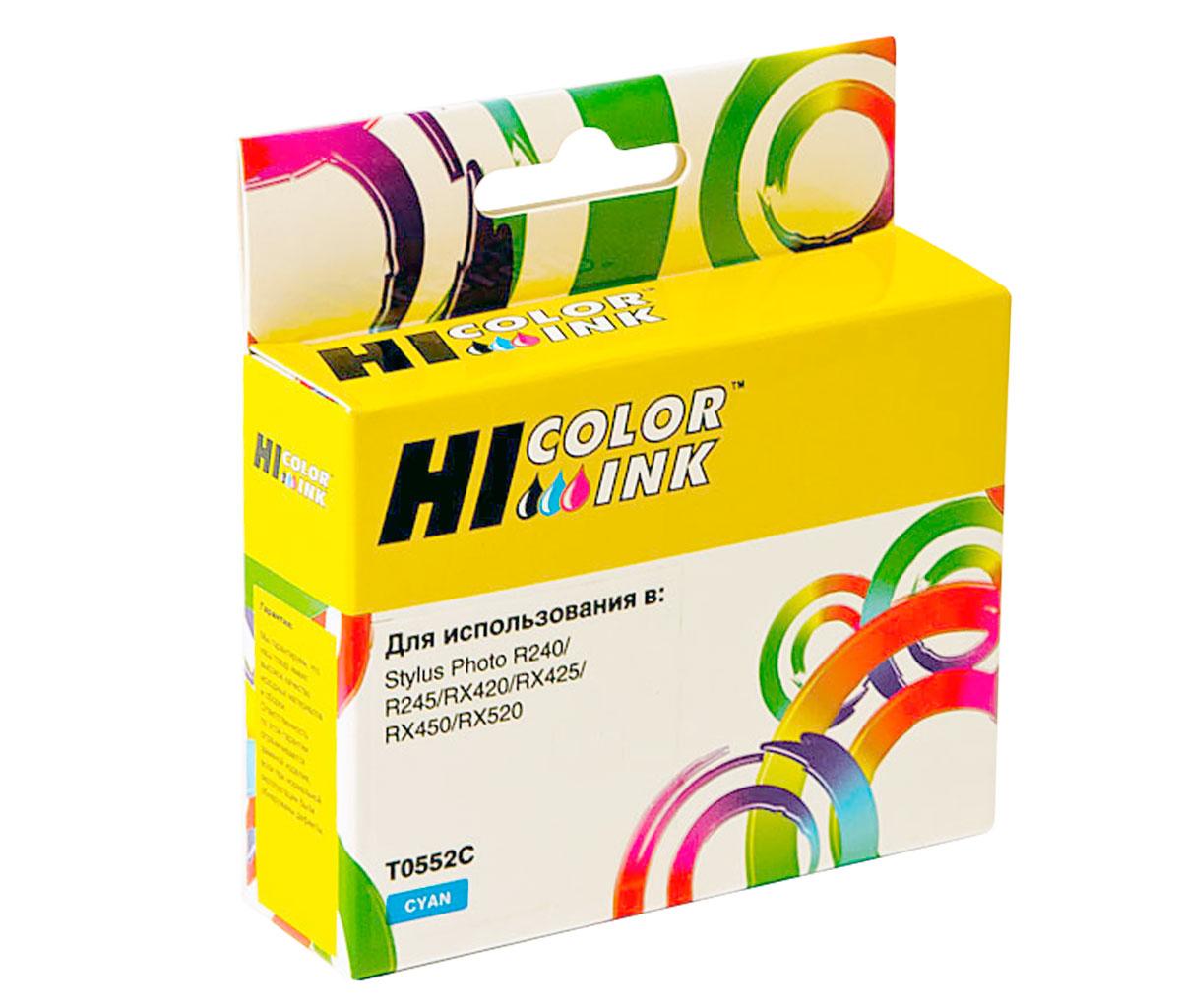 Картридж Hi-Black (HB-T0552) для Epson Stylus Photo R240/RX420/RX520, C