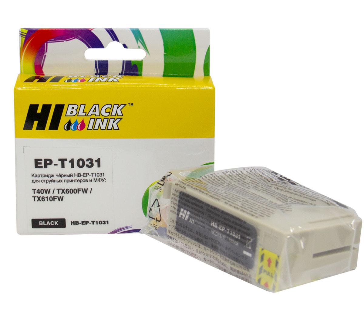 Картридж Hi-Black (EPT1031) для Epson Stylus Office T40/TX510/TX510fn/TX600, Black