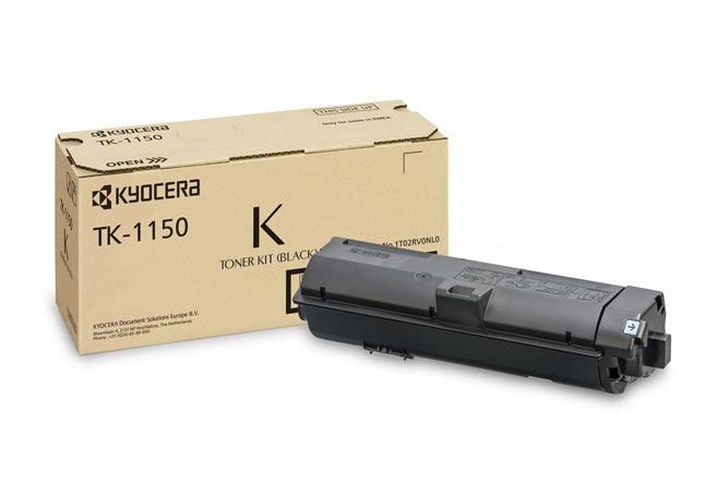 Тонер-картридж TK-1150 Kyocera M2135dn/M2635dn/M2735dw, P2235dn/P2235dw, 3К (О)