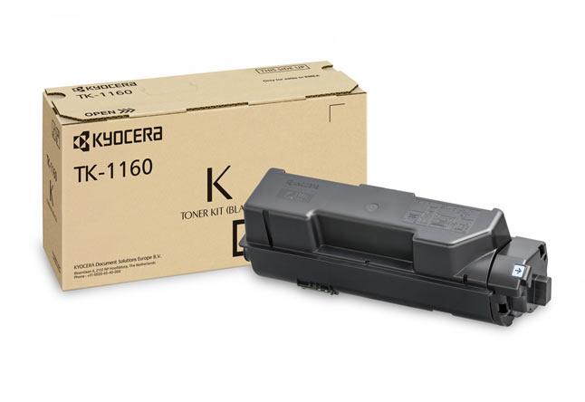 Тонер-картридж TK-1160 для Kyocera ECOSYS P2040dn/P2040dw, 7,2К (О) 1T02RY0NL0