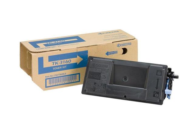 Тонер-картридж TK-3160 Kyocera P3045DN/P3050DN/P3055DN/P3060DN, 12,5К (O) 1T02T90NL1