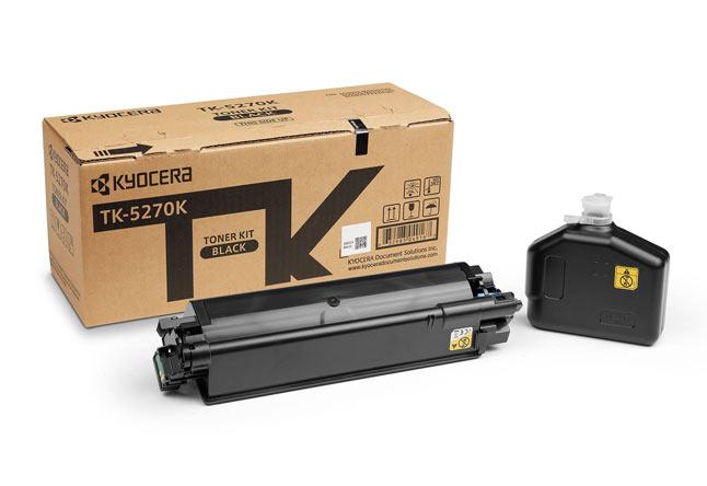 Тонер-картридж TK-5270K Kyocera P6230cdn/M6230cidn/M6630c, 8К (О) чёрный 1T02TV0NL0