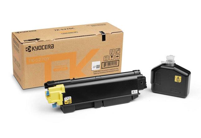 Тонер-картридж TK-5270Y Kyocera P6230cdn/M6230cidn/M6630c, 6К (О) жёлтый 1T02TVANL0