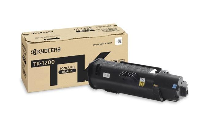 Тонер-картридж TK-1200 Kyocera P2335d/P2335dn/P2335dw/M2235dn/M2735dn/M2835dw, 3К (О)