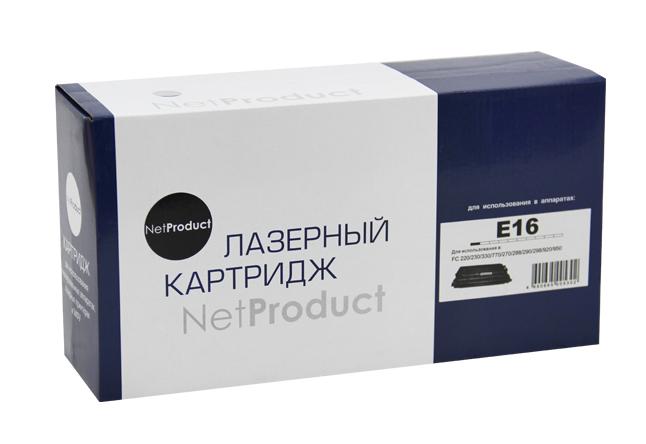 Картридж NetProduct (N-E-16) для Canon FC 200/210/220/230/330, 2K