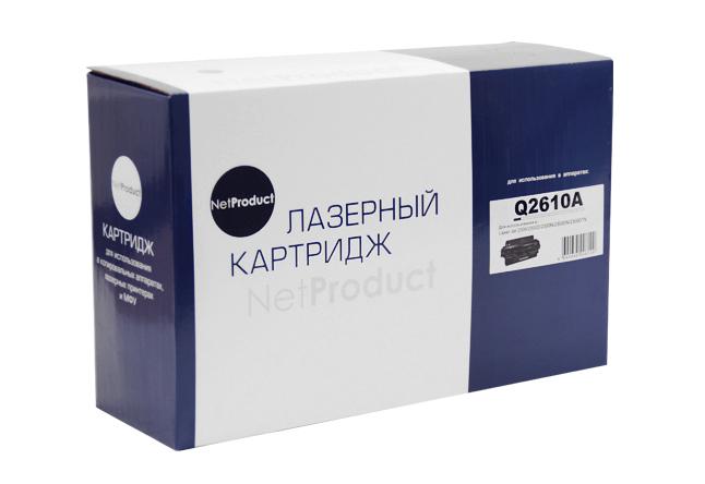 Картридж NetProduct (N-Q2610A) для HP LJ 2300, 6K