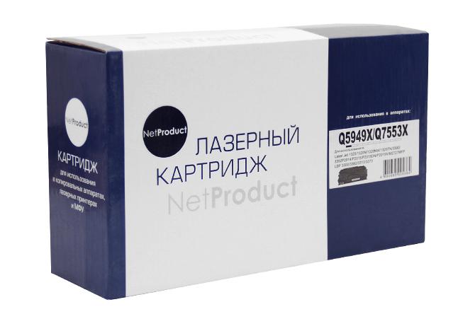 Картридж NetProduct (N-Q5949X/Q7553X) для HP LJ P2015/1320/3390/3392, Универсальный, 7K