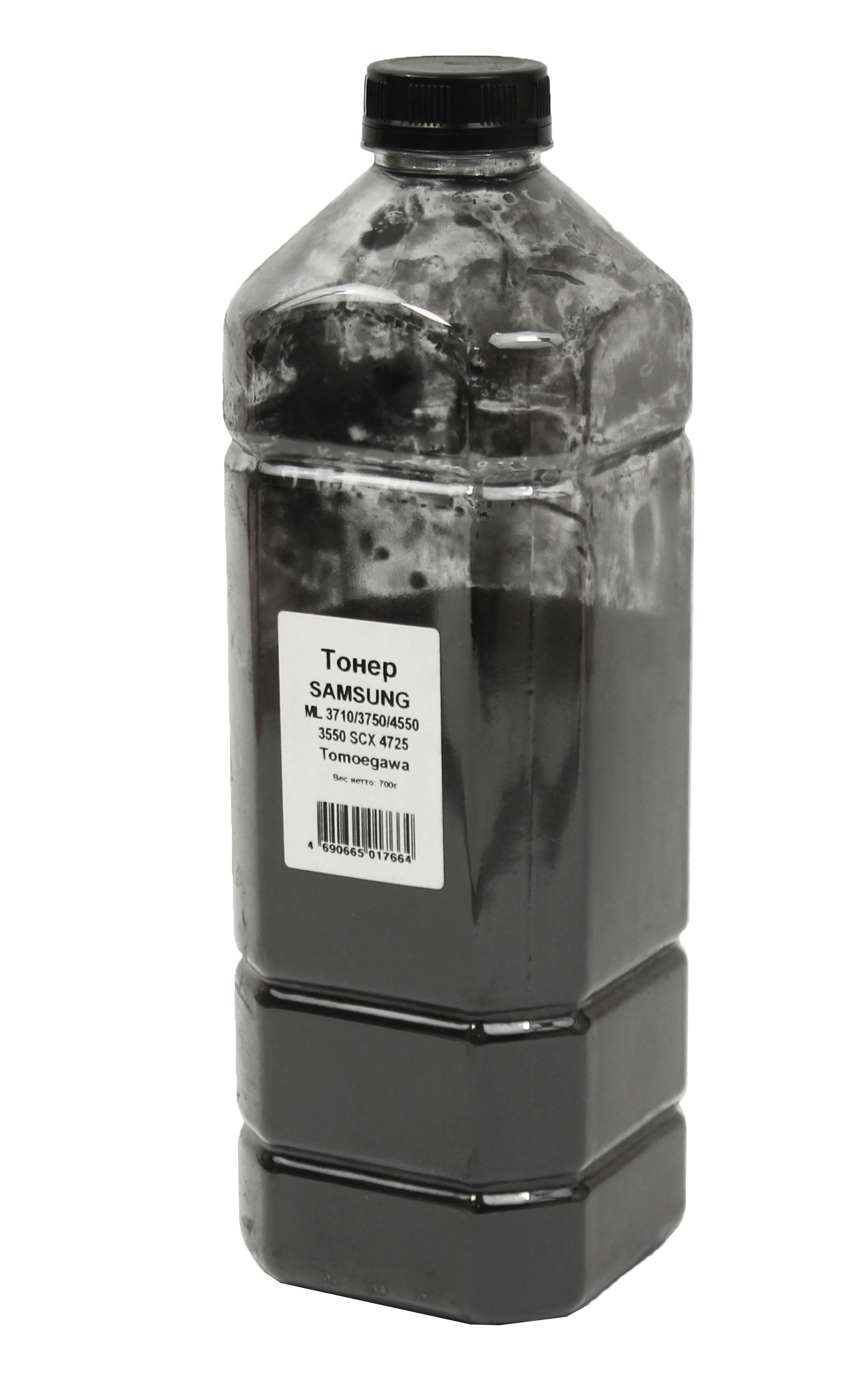 Тонер Tomoegawa для Samsung ML-3710/3750/4550/3550/SCX-4725, Bk, 700 г, канистра