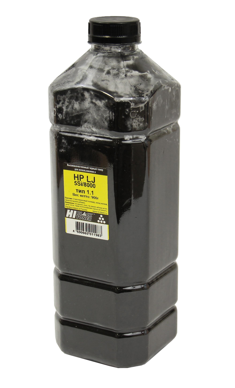 Тонер Hi-Black для HP LJ 5Si/8000, Тип 1.1, Bk, 900 г, канистра