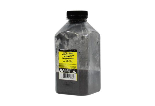 Тонер Hi-Black Универсальный для HP LJ Ultra M230/M227,Сферизованный,Тип 6.2,Bk,140г,банка