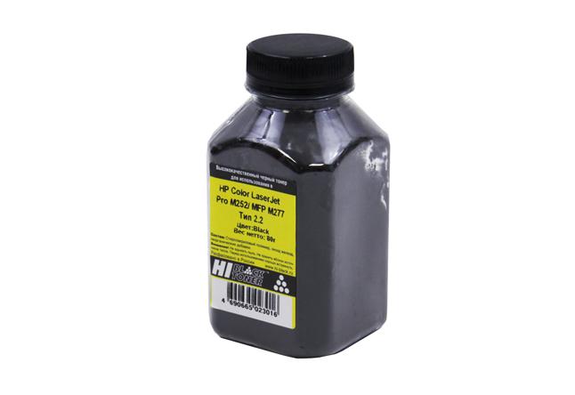 Тонер Hi-Black для HP CLJ Pro M252/MFP M277, Химический, Тип 2.2, Bk, 80 г, банка