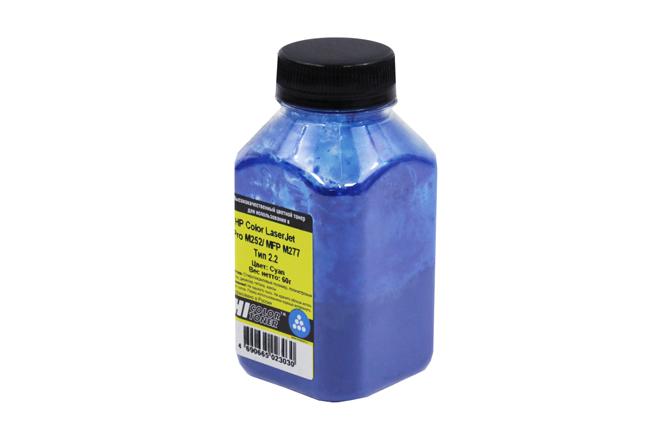 Тонер Hi-Black для HP CLJ Pro M252/MFP M277, Химический, Тип 2.2, C, 60 г, банка