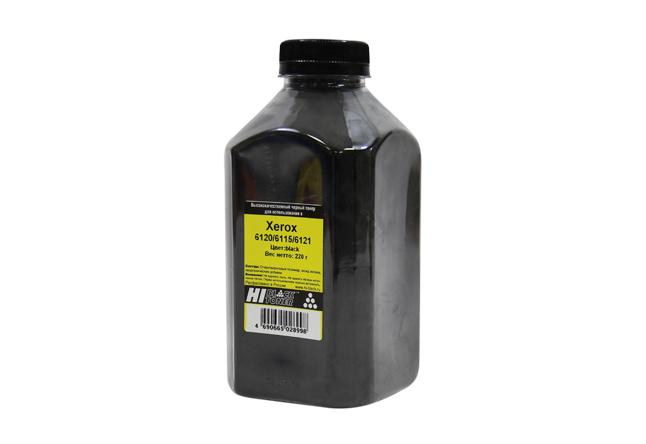 Тонер Hi-Black для Xerox Phaser 6120/6115/6121,  Тип 2.0, Bk, 220 г, банка