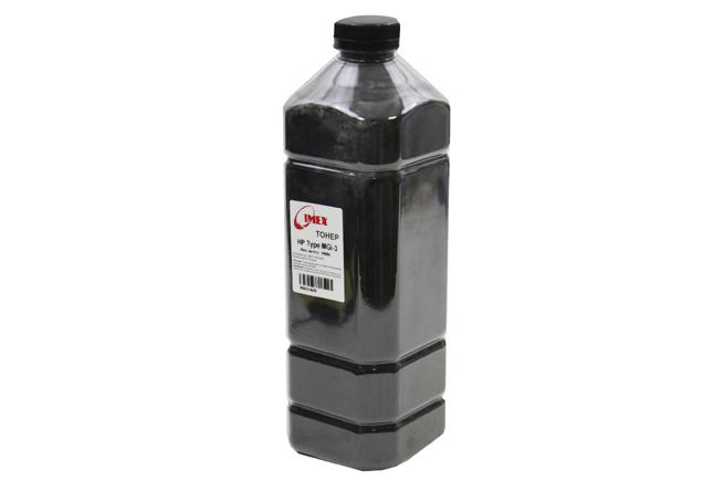 Тонер Imex для HP LJ, Тип MGi-3 (фасовка Россия) Bk, 1 кг, канистра