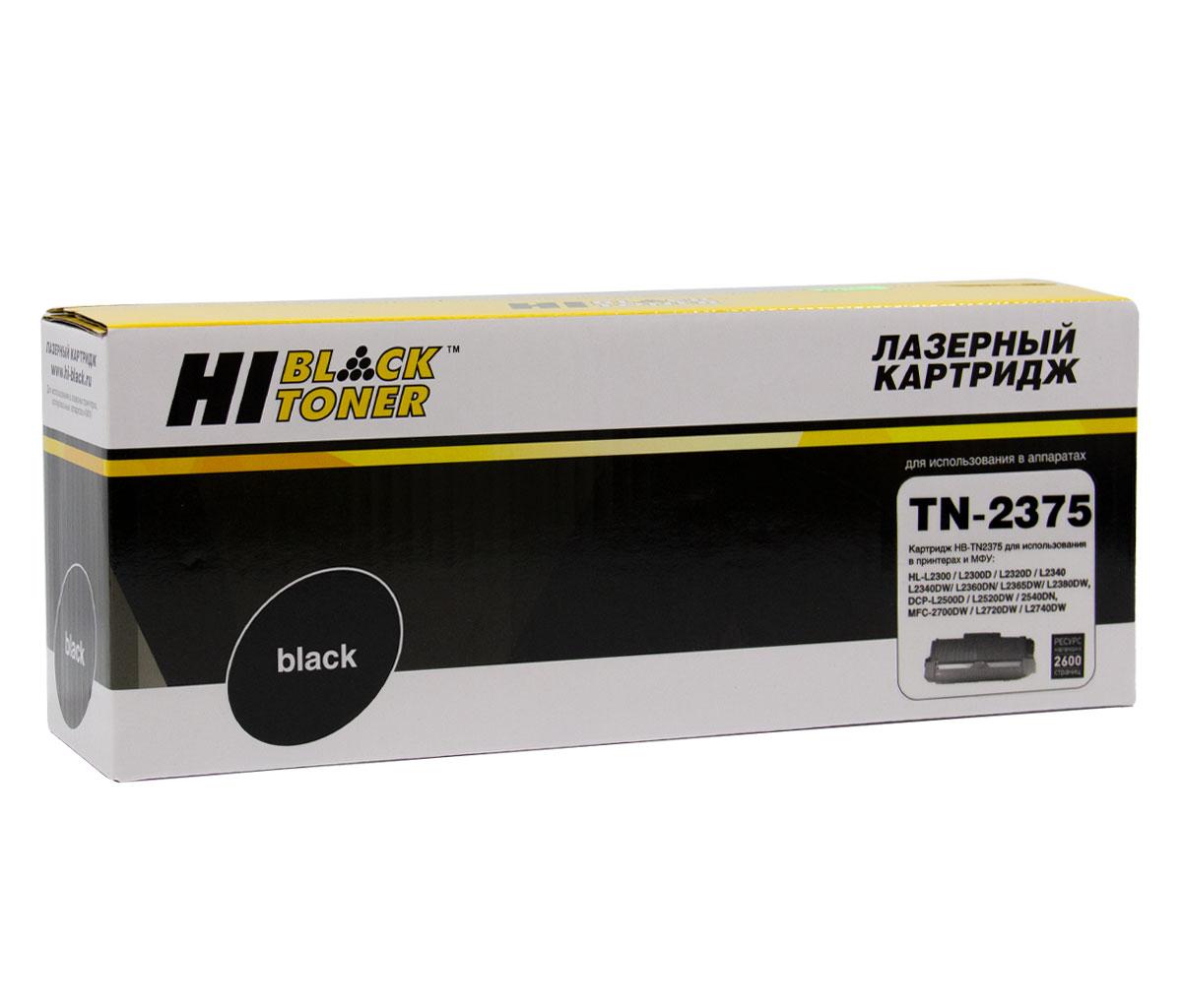 Тонер-картридж Hi-Black (HB-TN-2375/TN-2335) для Brother HL-L2300/2305/2320/2340/2360,2,6K